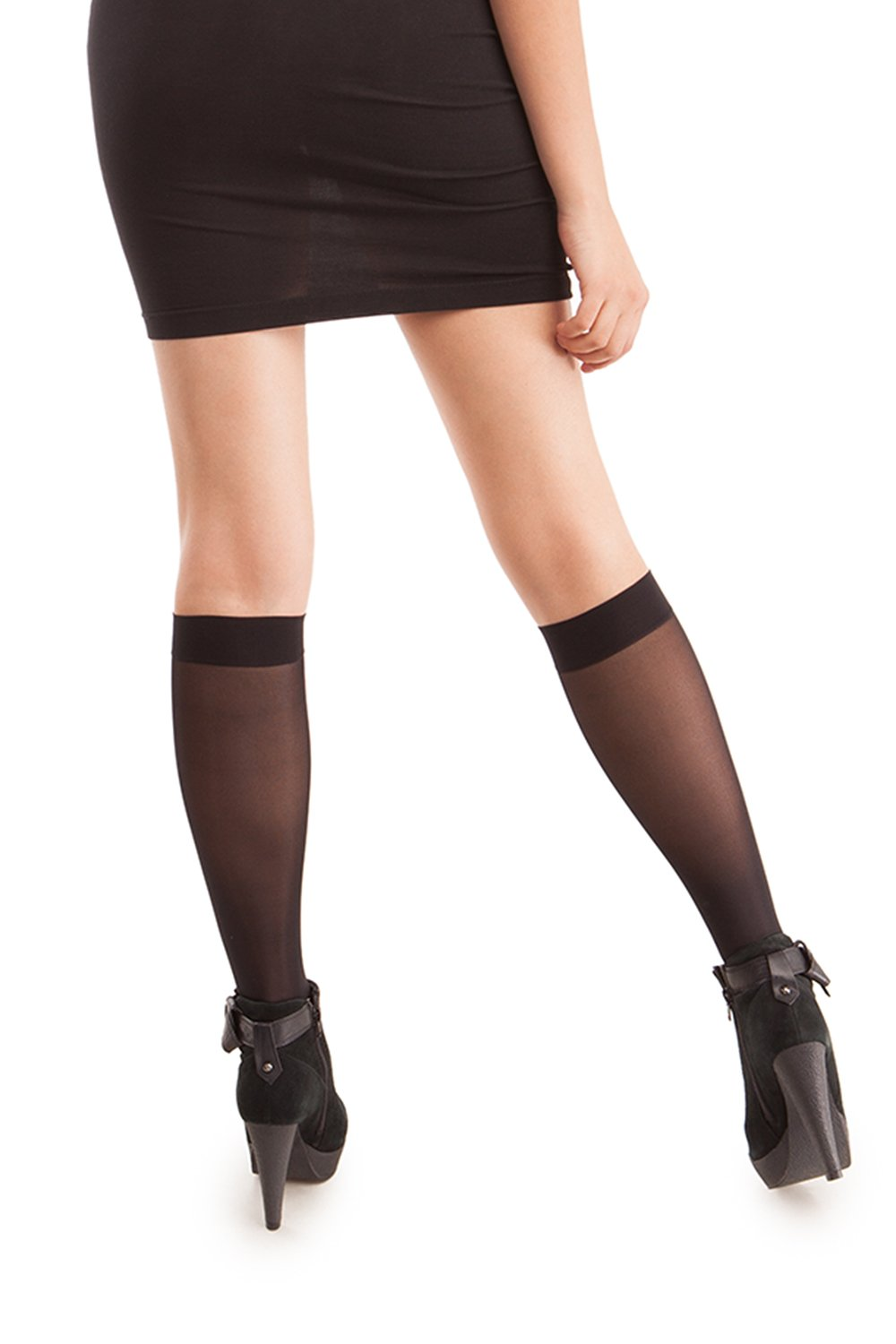 Sheer Knee Highs - Graduated Firm Compression: 23-30 mmHG (H-180)