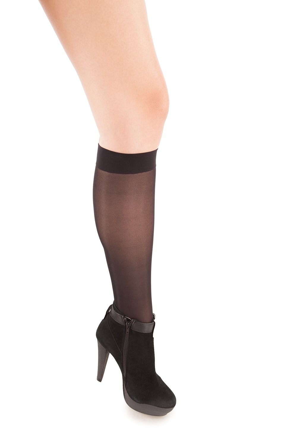 Sheer Knee Highs - Firm Compression - 23 to 30 mmHG - Gabrialla