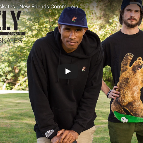grizzly griptape alf alphonzo rawls new friends skateboard