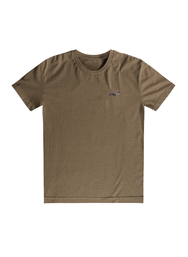 Chase Embroidered Tee