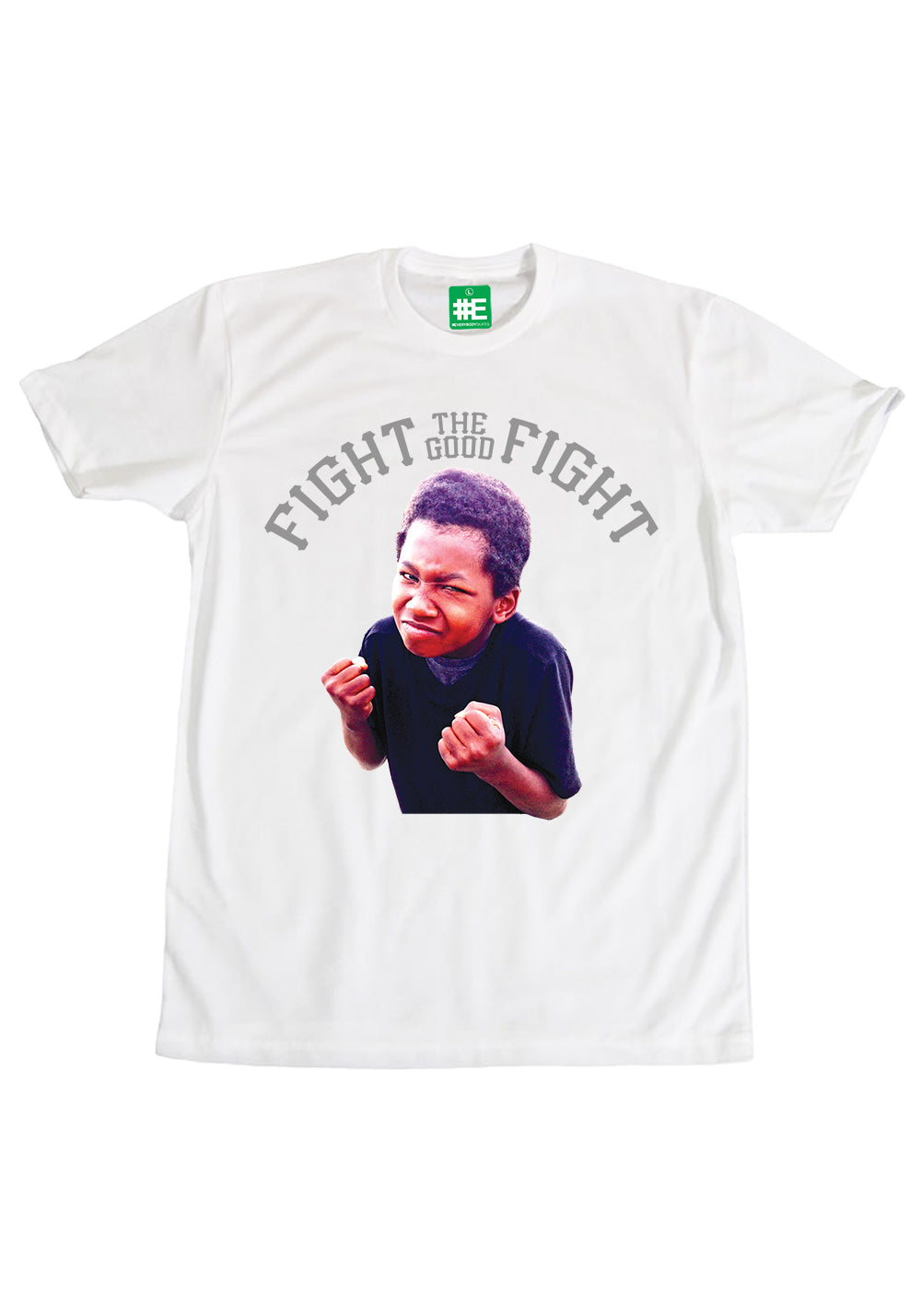 """Fight The Good Fight"" Graphic T-shirt"