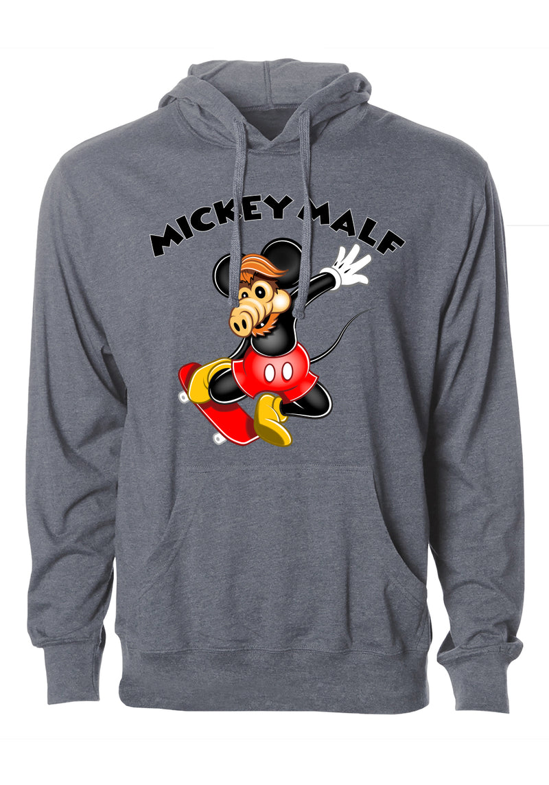 """Mickey Malf"" Graphic Hoodie"