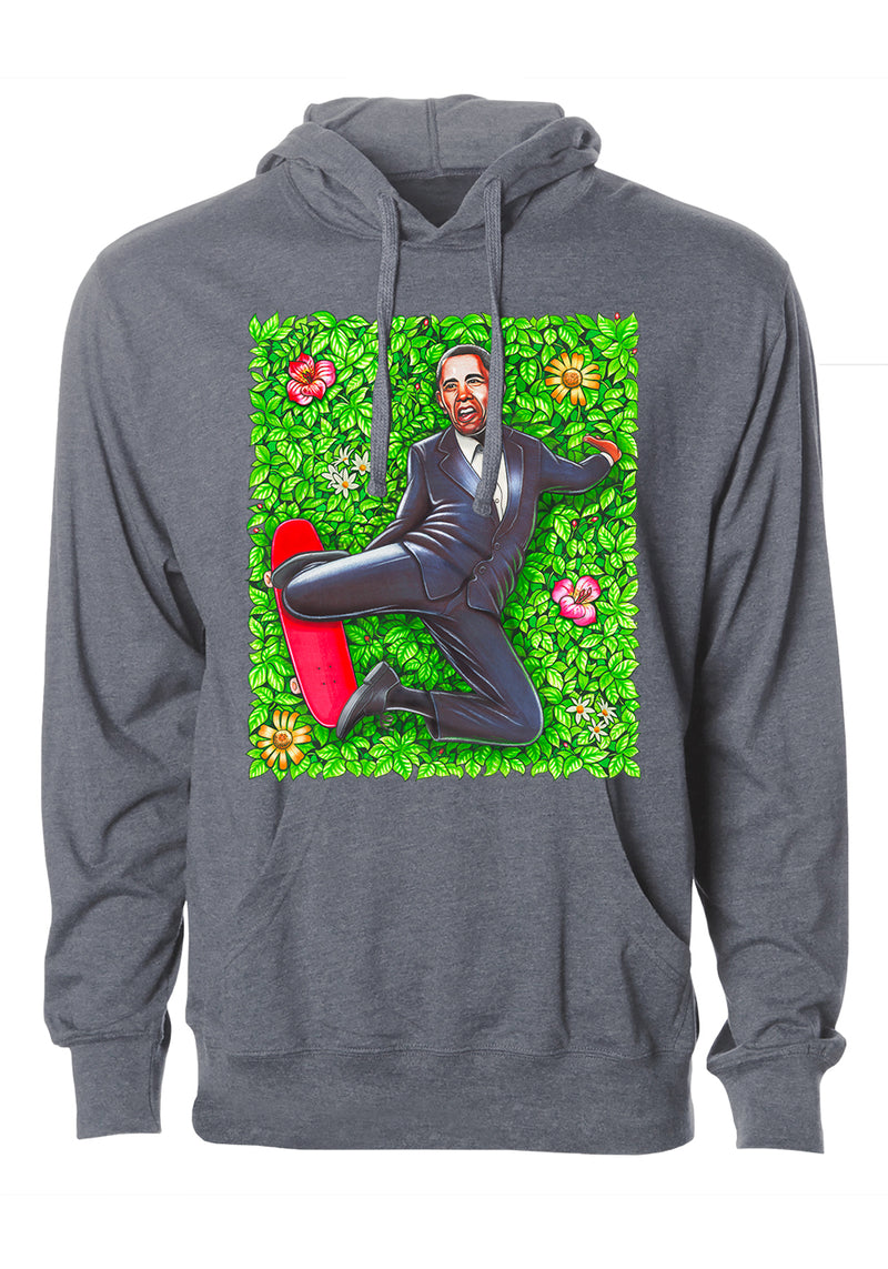 """Obama"" Graphic Hoodie"