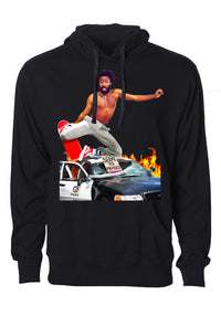 """Skate and Destroy"" Graphic Hoodie"