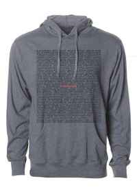 """Thank You"" Graphic Hoodie"