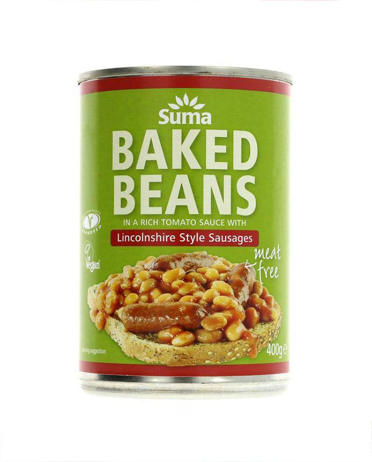 Vegan Sausage and Baked Beans