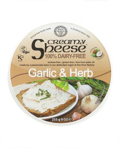 The Garlic & Herb Creamy Sheese is a versatile Dairy-Free alternati...