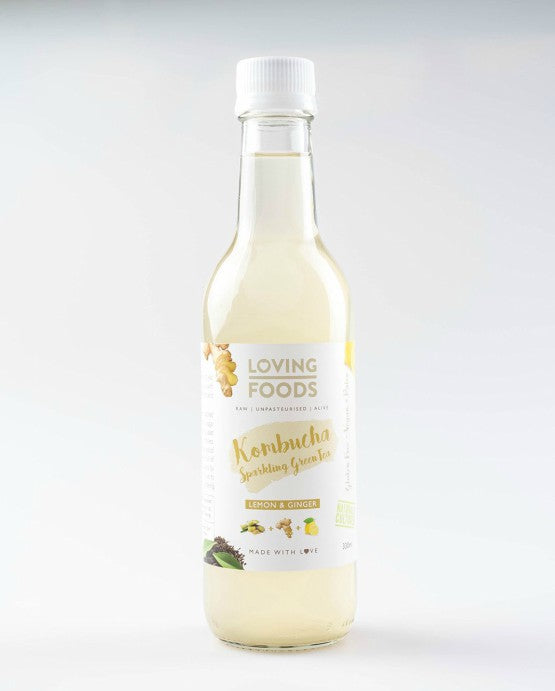 Organic Kombucha - Lemon & Ginger 330ml