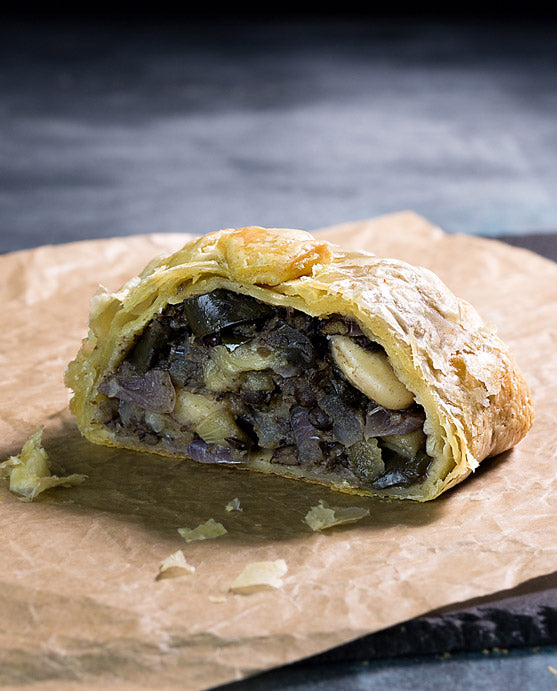 Dairy & Meat Free Moroccan Aubergine Wellington