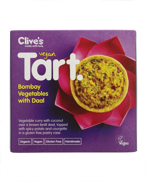 Bombay vegetable Tart with Daal