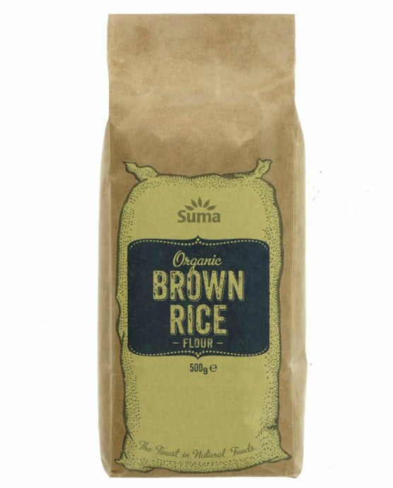 Organic Brown Rice Flour - 500g