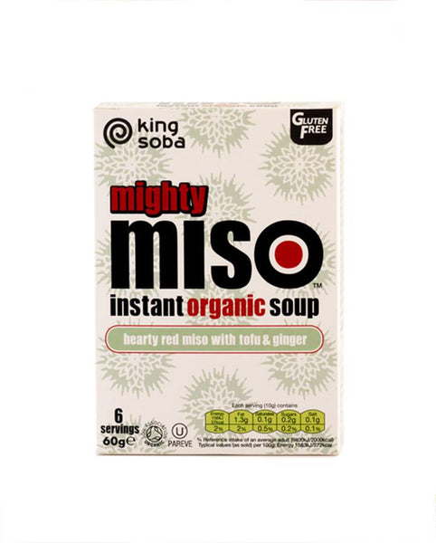 Red Miso Soup With Tofu & Ginger - 6 x Servings
