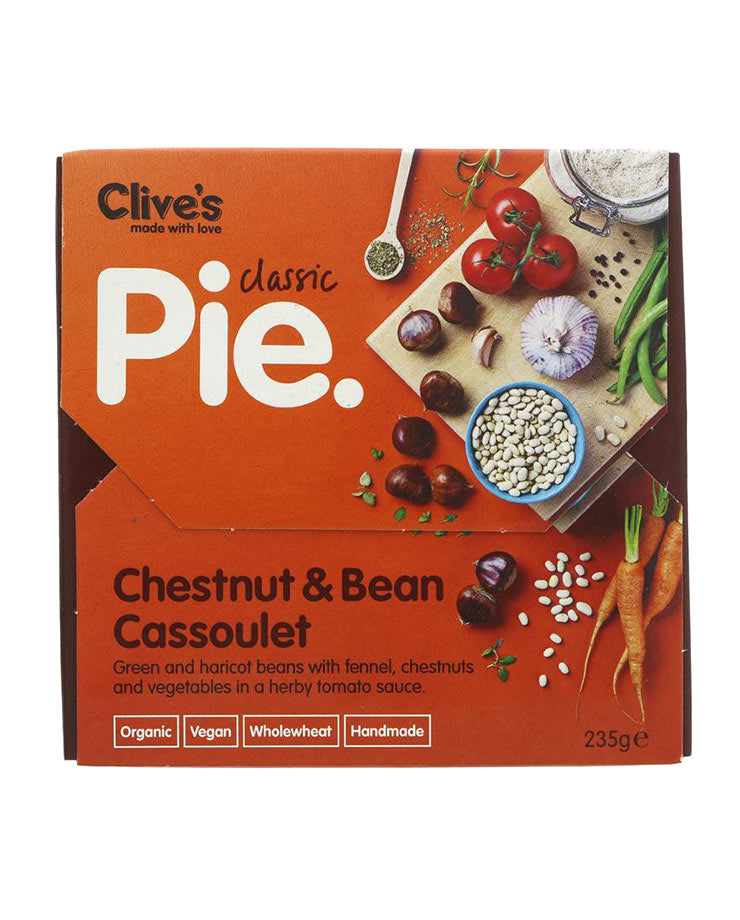 Chestnut & Bean Cassoulet Pie 235g