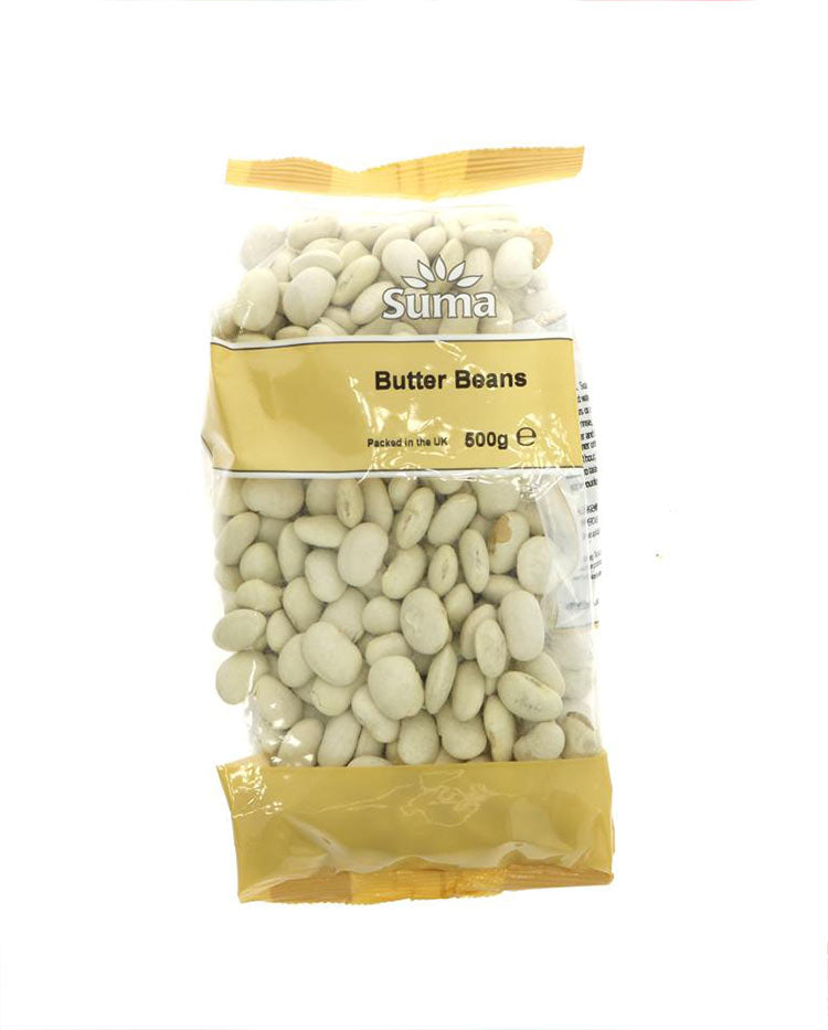 uncooked butter beans