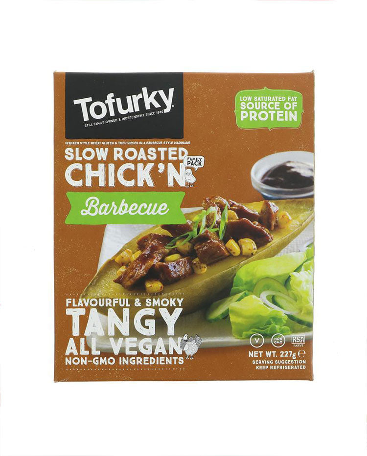 Tofurky Barbecue Chickn - 227g