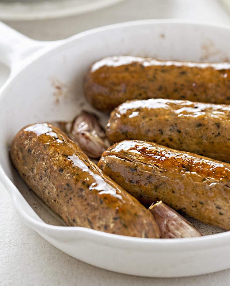 Apple and Sage Flavour Sausage - 8 x Pack