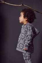 Boys&Girls Knitted Hoody in Organic cotton