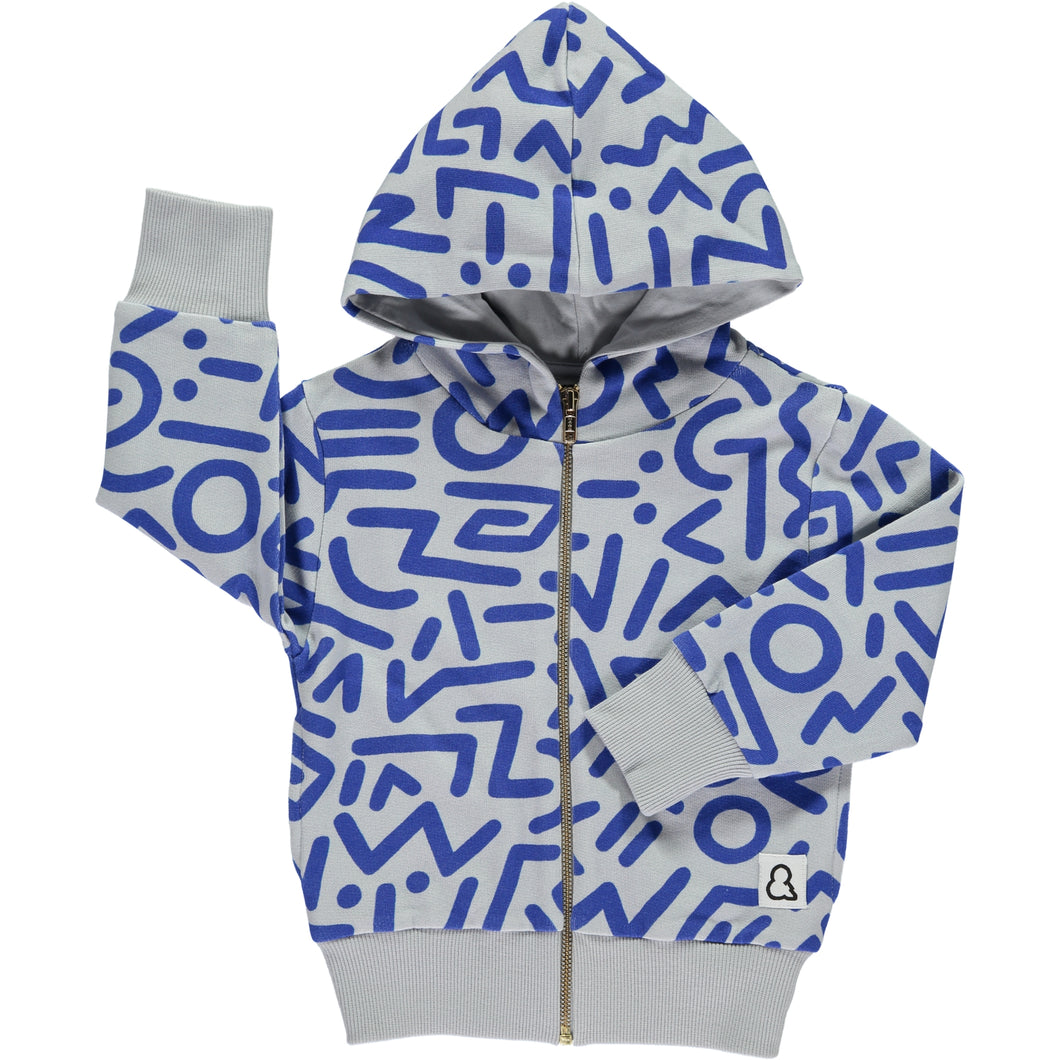 Faces Hooded Zip Jacket