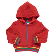 Boys&Girls Hooded Zip Jacket in Organic Cotton