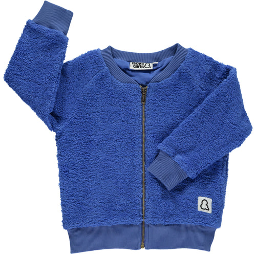 Boys&Girls Sherpa Zip Jacket in Organic Cotton