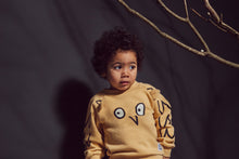 Boys&Girls Snow Owl Sweatshirt in Organic Cotton