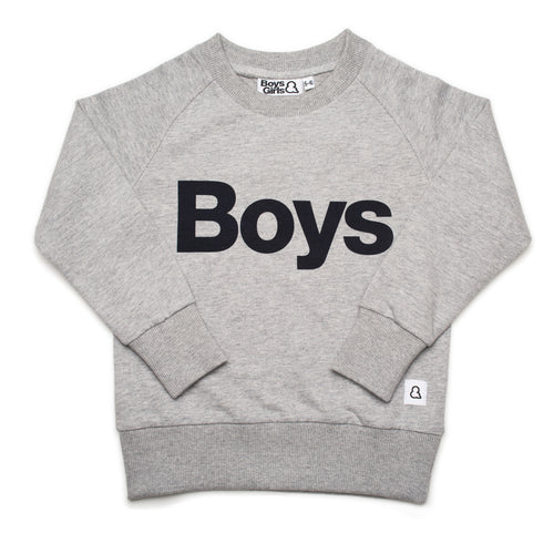 Boys&Girls print sweatshirt in organic cotton.
