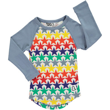 Bright Star Raglan Tee