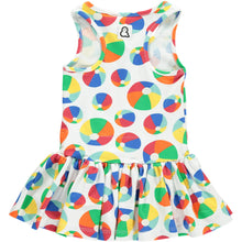 Boys&Girls Bouncy Print Dress in Organic Cotton back view