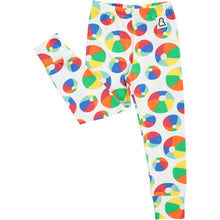 Boys&Girls unisex kids bouncy print leggings in organic cotton