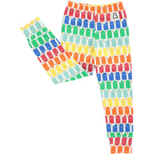 Boys&Girls unisex kids lolly pop print leggings in organic cotton