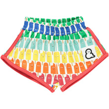 Boys&Girls unisex kids lolly pop print shorts in organic cotton