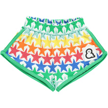 Boys&Girls unisex kids star print shorts in organic cotton