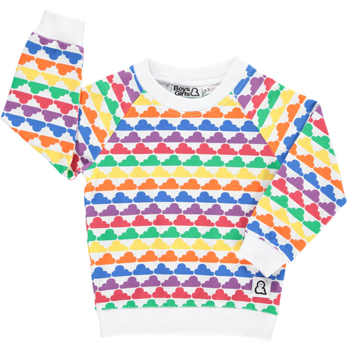 Boys&Girls Day Dreamers Crew Top in Organic Cotton
