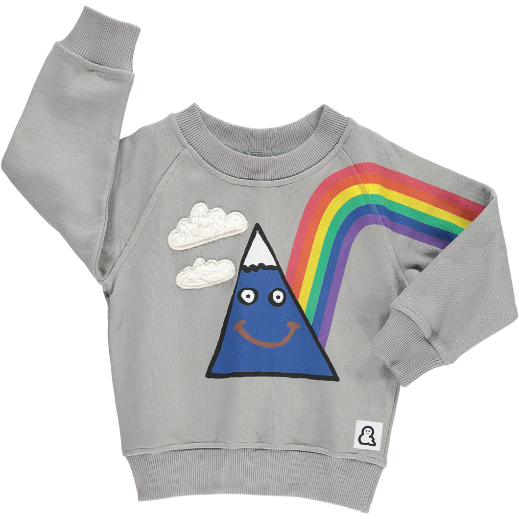 Boys&Girls Happy Days Sweatshirt in Organic Cotton