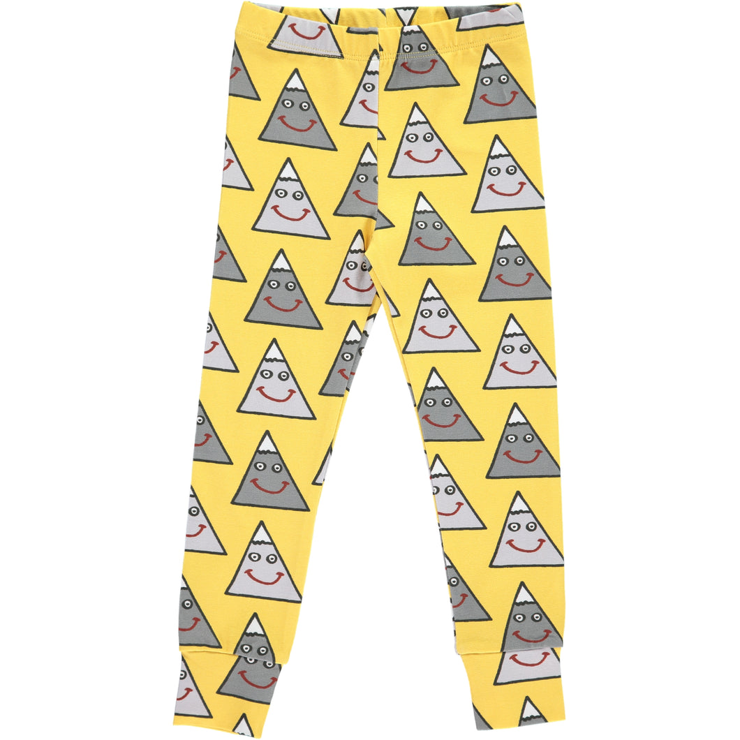 Boys&Girls Happy Mountain Leggings in Organic Cotton