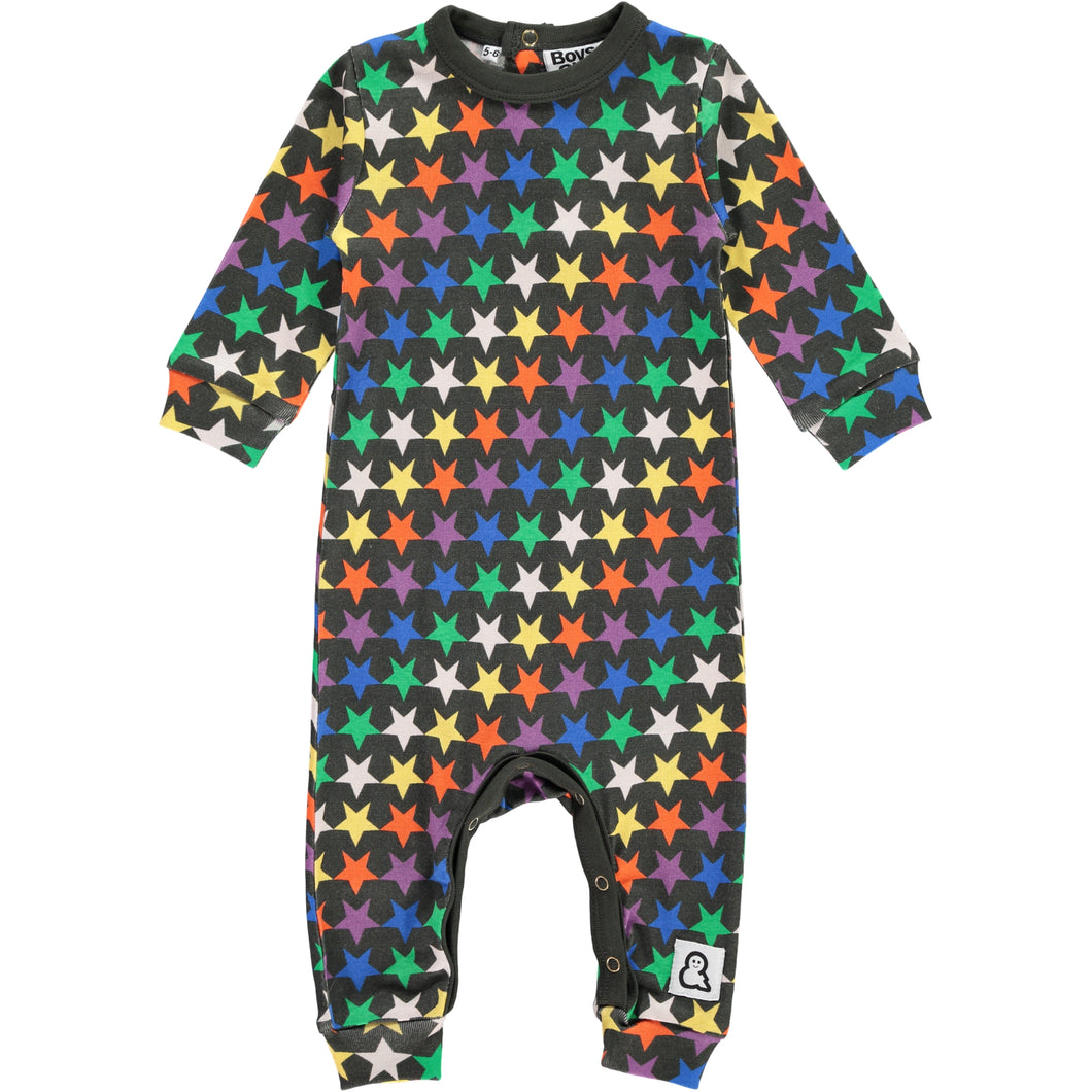 Boys&Girls Night Stars Romper in Organic Cotton