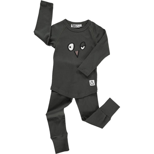 Boys&Girls Sleepy Face PJ's in Organic Cotton