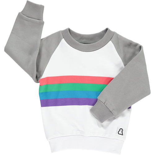Boys&Girls Stripes Sweatshirt in Organic Cotton