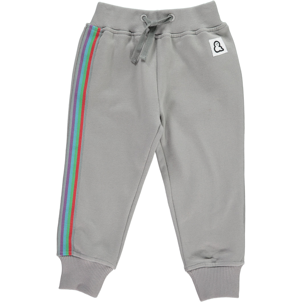 Boys&Girls Stripes Track Pants in Organic Cotton