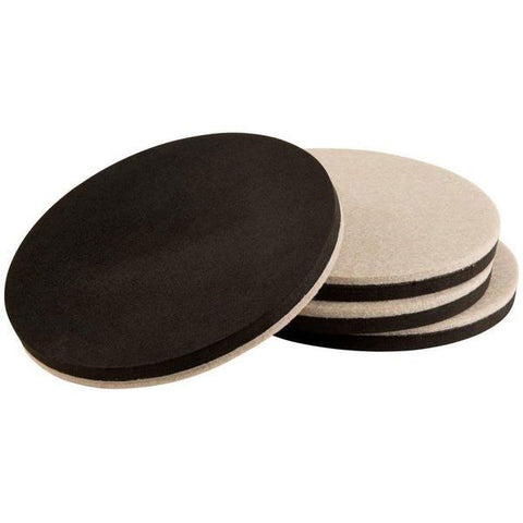 SIMALA Premium Reusable Heavy Duty Furniture Felt Sliders For Hard Surfaces