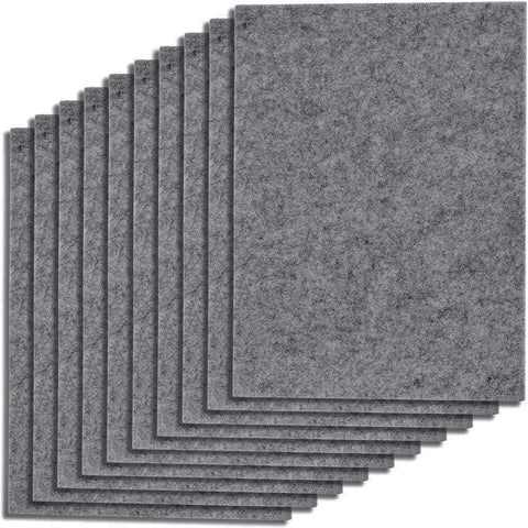 Grey Furniture Felt Pads Floor Protectors 11x15cm Heavy Duty Felt Sheets 5mm Cut Best Adhesive Felt Pads for Furniture Feet Chair Leg Floor Protectors