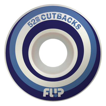 Team Cutback Swirl 54mm 99a