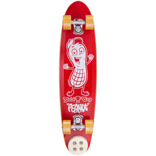 Gold Cup Peanut Red Skateboard Complete