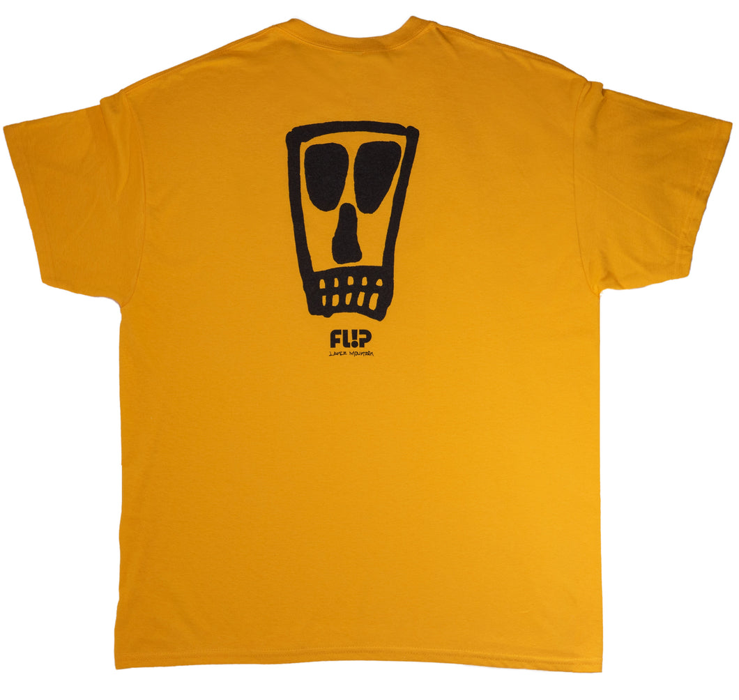 Vato Logo T-shirt - Yellow