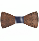 Quercus Wood Bow Tie
