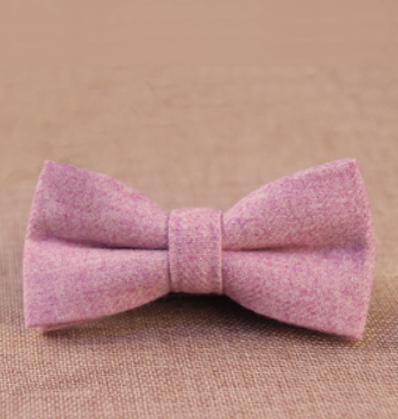 Lilac Flamingo Bow