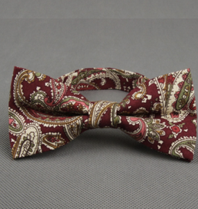 Arabesques Garnet Bow