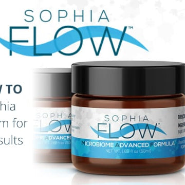 How To Apply Sophia FLOW Cream