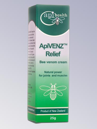 ApiVENZ Relief Bee Venom Cream 25g