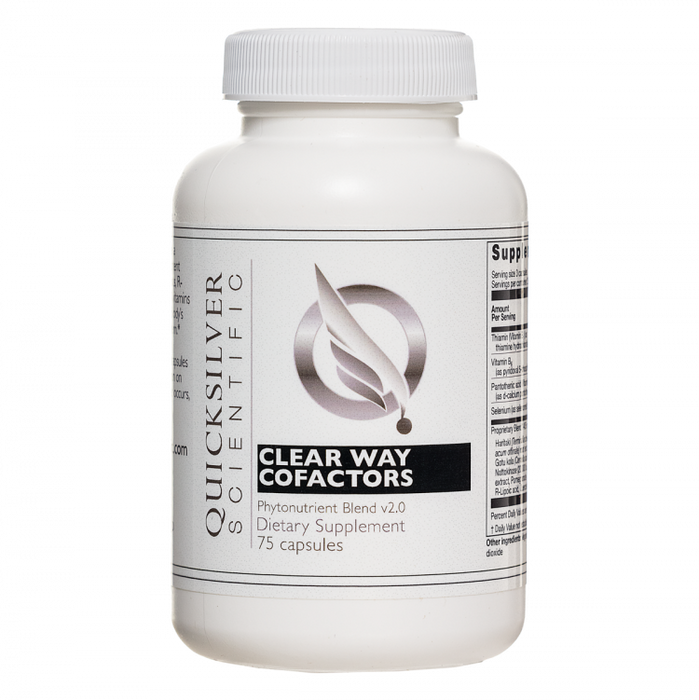 Clear Way Cofactors 75 Capsules